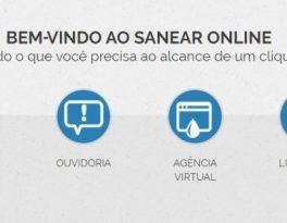 Nova agência virtual do Sanear oferece facilidades para o consumidor  PRATICIDADE Sanear lança nova agência virtual com facilidades para o consumidor