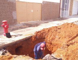 Instalação de novos hidrantes cessará abastecimento de água temporariamente