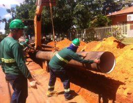 Obras do PAC 1 e 2 estão sendo retomadas pela Prefeitura de Rondonópolis