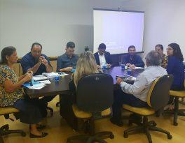 Conselheiros recebem informações sobre os trabalhos executados pelo Sanear neste ano
