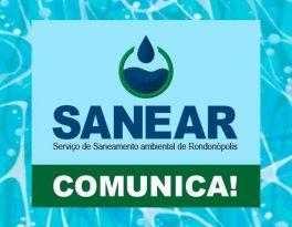Comunicado Sanear