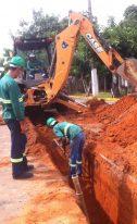 Rede de esgoto do Jardim Rui Barbosa será liberada em breve