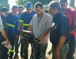 Sanear adquire equipamento para detectar ligações clandestinas de água e esgoto