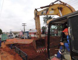 Obra da Fernando Corrêa deu suporte para rede de esgoto atender mais de 15 bairros