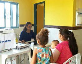 Sanear oferece atendimentos no mutirão do Distrito Boa Vista