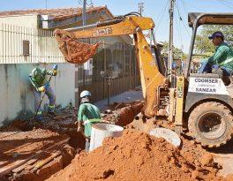 Rondonópolis é a única cidade do Estado que possui obras de saneamento do PAC em andamento
