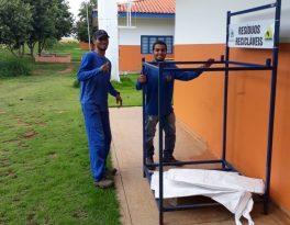 Unidades de Educação começam a receber coletores de resíduos recicláveis