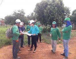 REDE DE ÁGUA – Sanear realiza obra para melhorar o abastecimento de água nos bairros Parque São Jorge e Sagrada Família